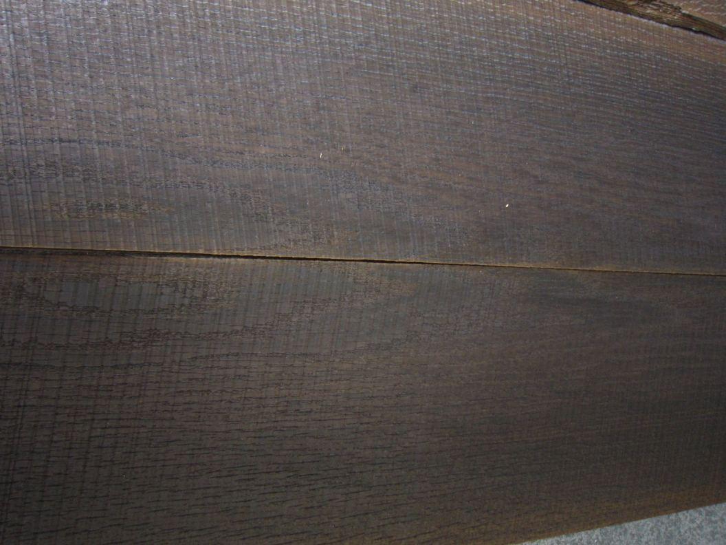 F779-3 Gezaagd Gerookt Eiken 204,5×20,5