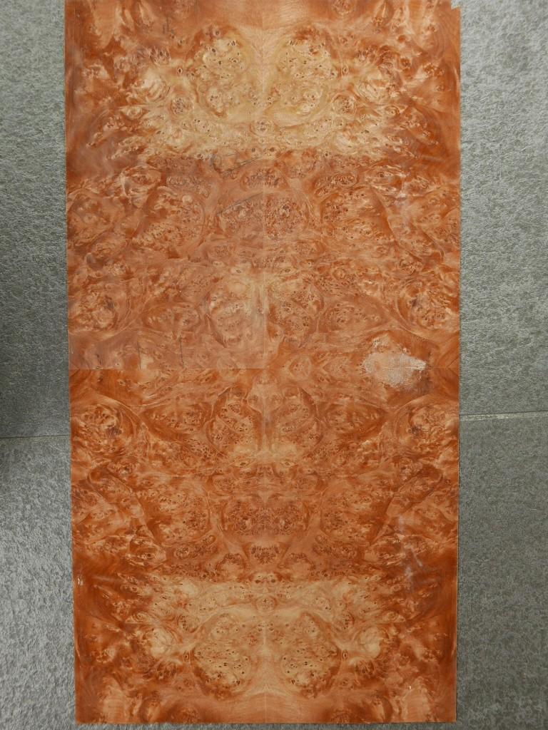 GW089-3 Gevoegd Amerikaans Esdoorn Wortel 31x58cm 2st