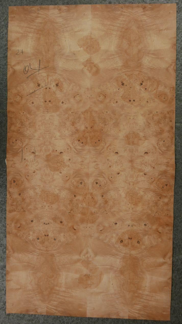 GW096-1 Gevoegd Esdoorn Gewaterd Wortel 31x58cm 1st