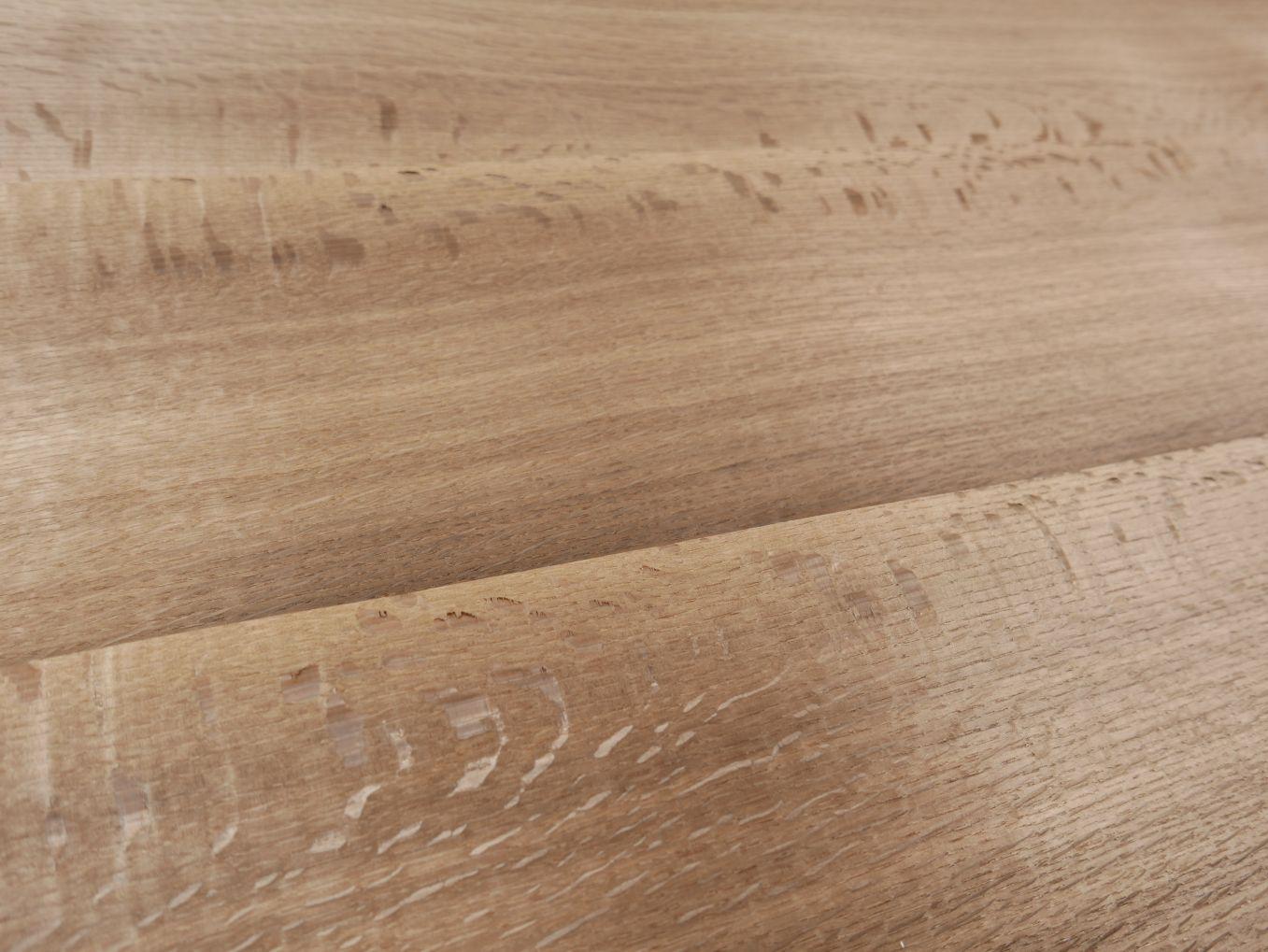 A0249x-3 Europees Goudbruin Gerookt Eiken Gespiegeld 23,5-25,5x275cm 24st